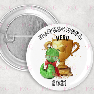 Home School Hero Badge