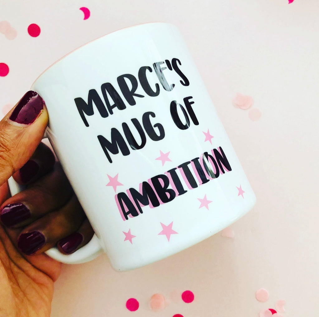 Personalised Mug of Ambition
