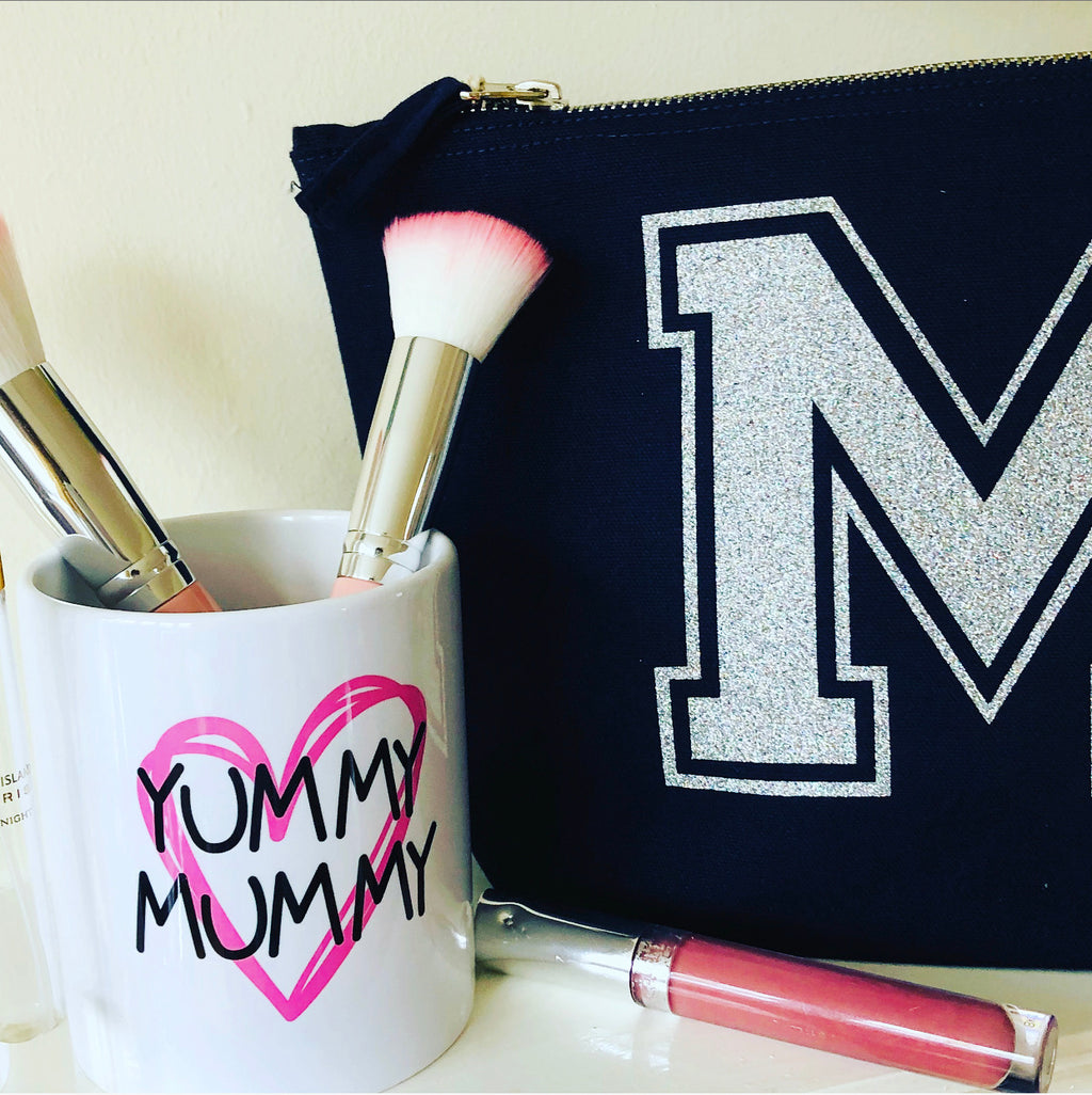 Yummy Mummy Makeup Brush Holder