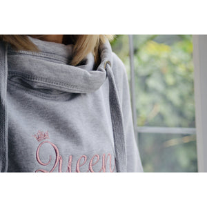 "The ""Queen"" Embroidered Hoody"