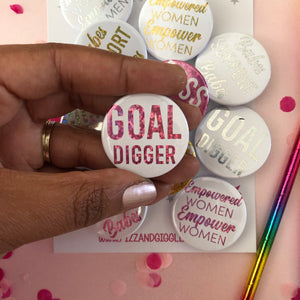Female Empowerment Badges Pk 20