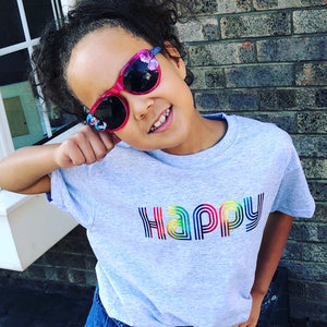 "Kids ""HAPPY"" T-Shirt"