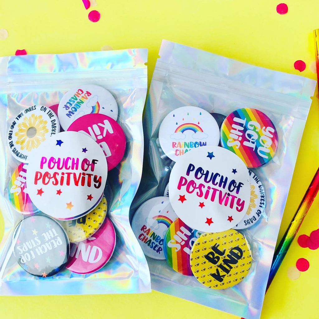 Positivity Badges/ Magnets Pk 10