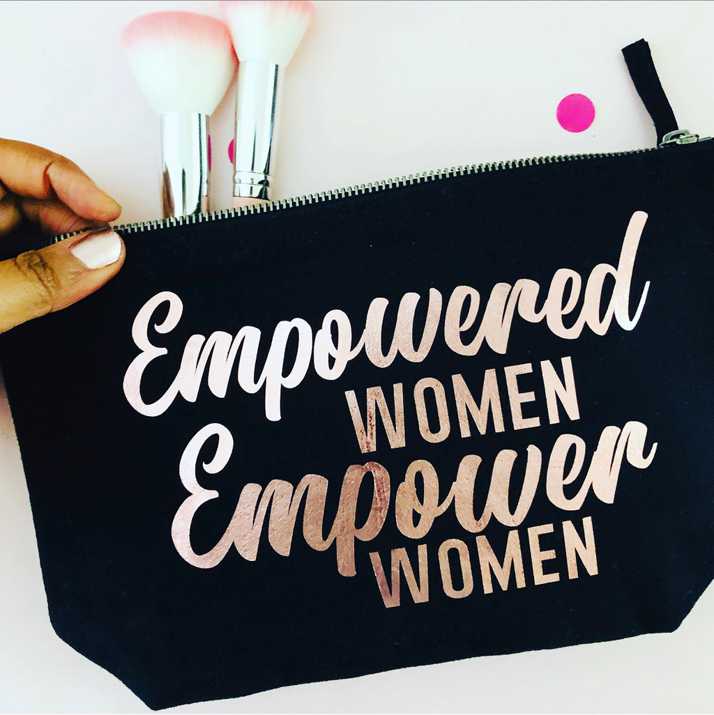 Empowered Woman Accessory Pouch