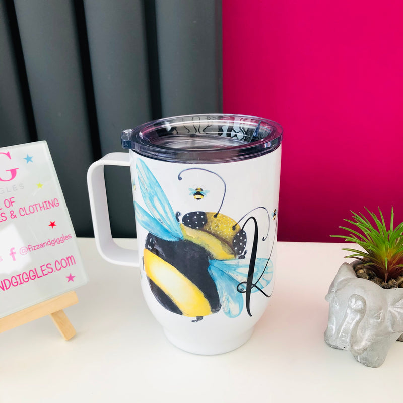 Bee Kind 500ml Insulated Mug With Lid