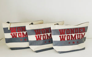 WONDERWOMUM Personalised Accessory Bag, Makeup Bag