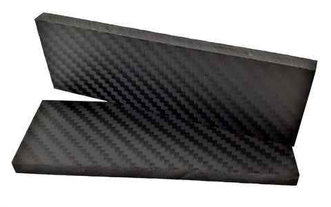 3k carbon fiber handle pair