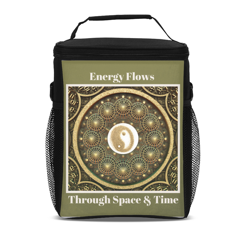 Energy Yin & Yang Tall Insulated Lunch Bag