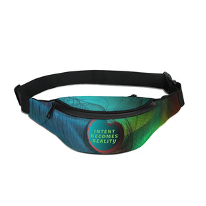 Intent Becomes Reality Crossbody Sling Bag