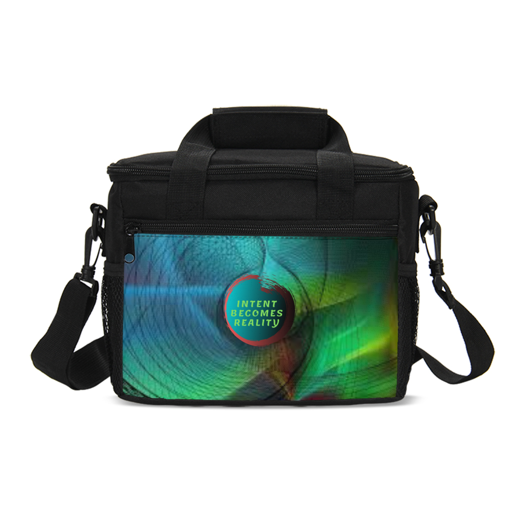 Intent Becomes Reality Insulated Lunch Bag
