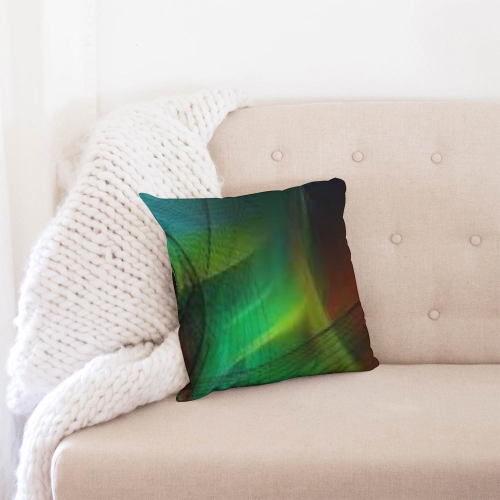 Intent Becomes Reality Throw Pillow Case 16x16