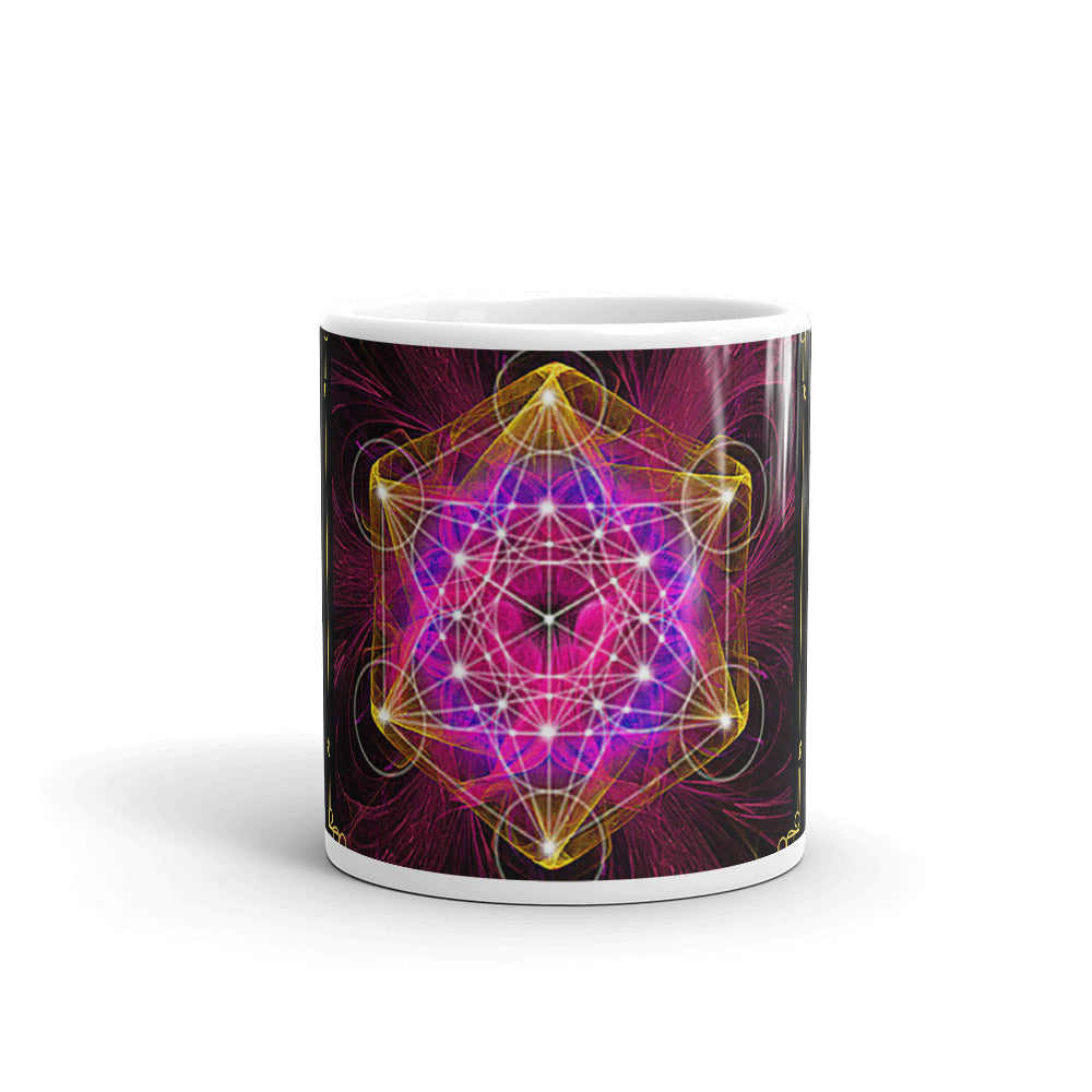 Colorful Sacred Geometry Mug