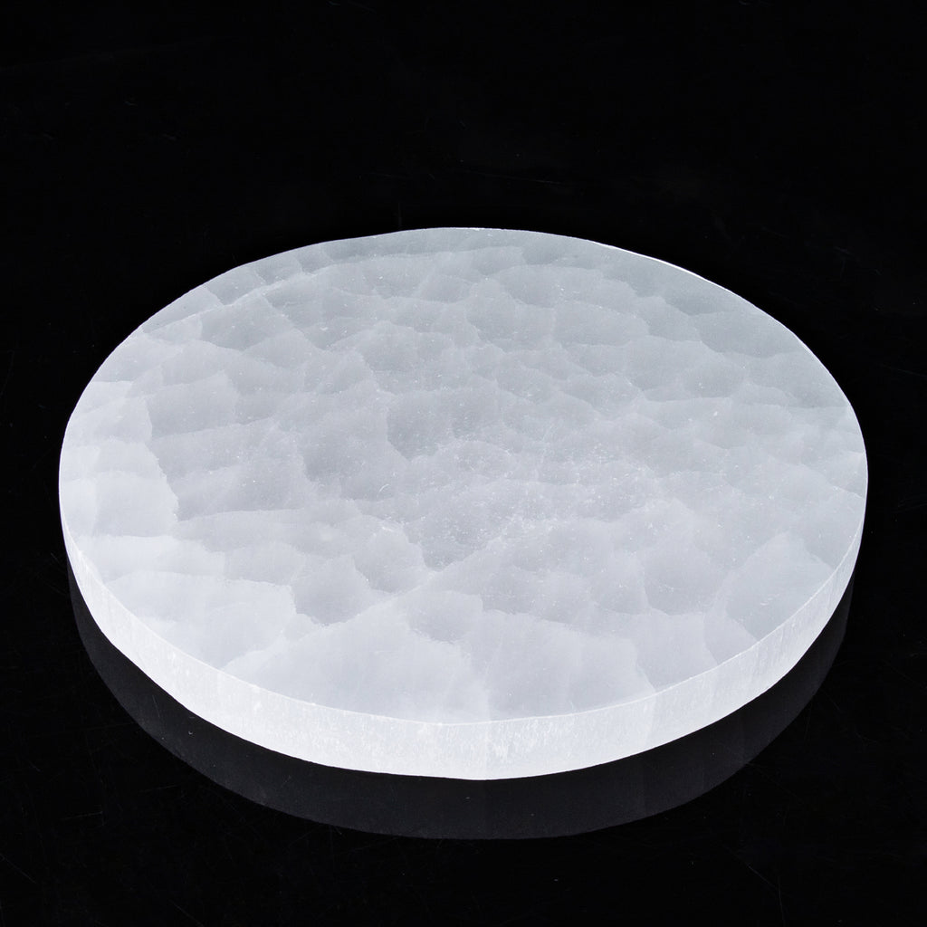 Polishing Round Selenite Plate
