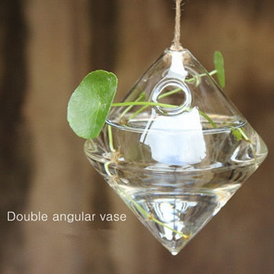 Glass Hanging Vase