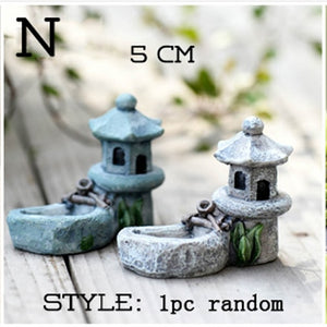 Antique Mini Fairy Garden Figurine Pieces