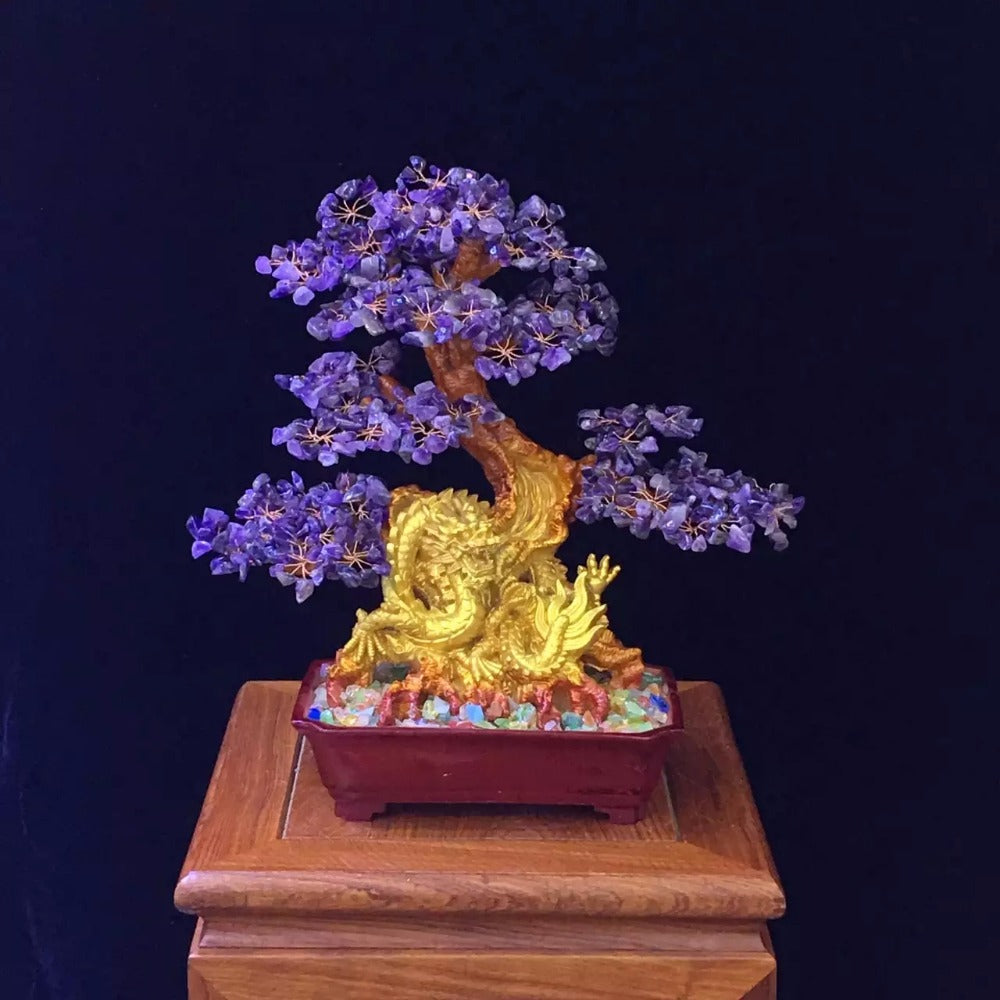Natural Amethyst Lucky Tree