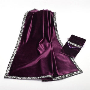 Velvet Tarot Deck Bag & Table Cloth Set