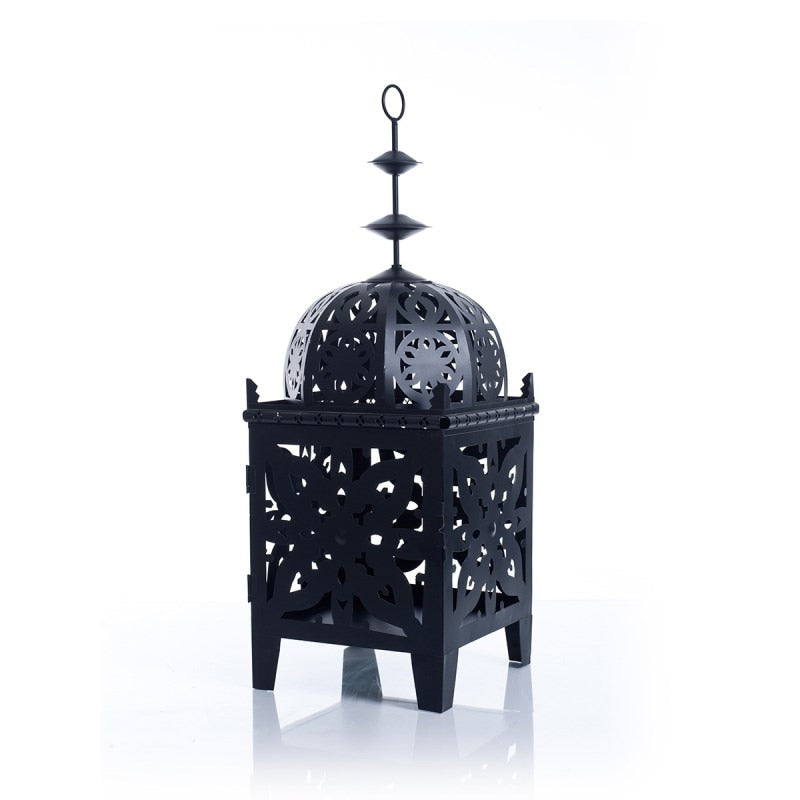 Moroccan Metal Castle Tea Light Holder