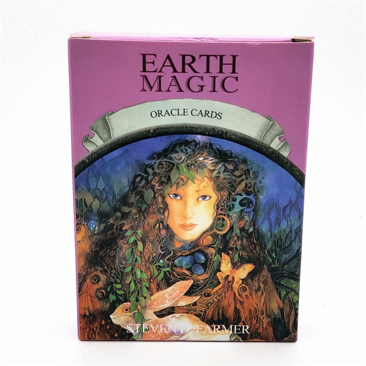 Earth Magic Oracle Card Deck And Guidebook