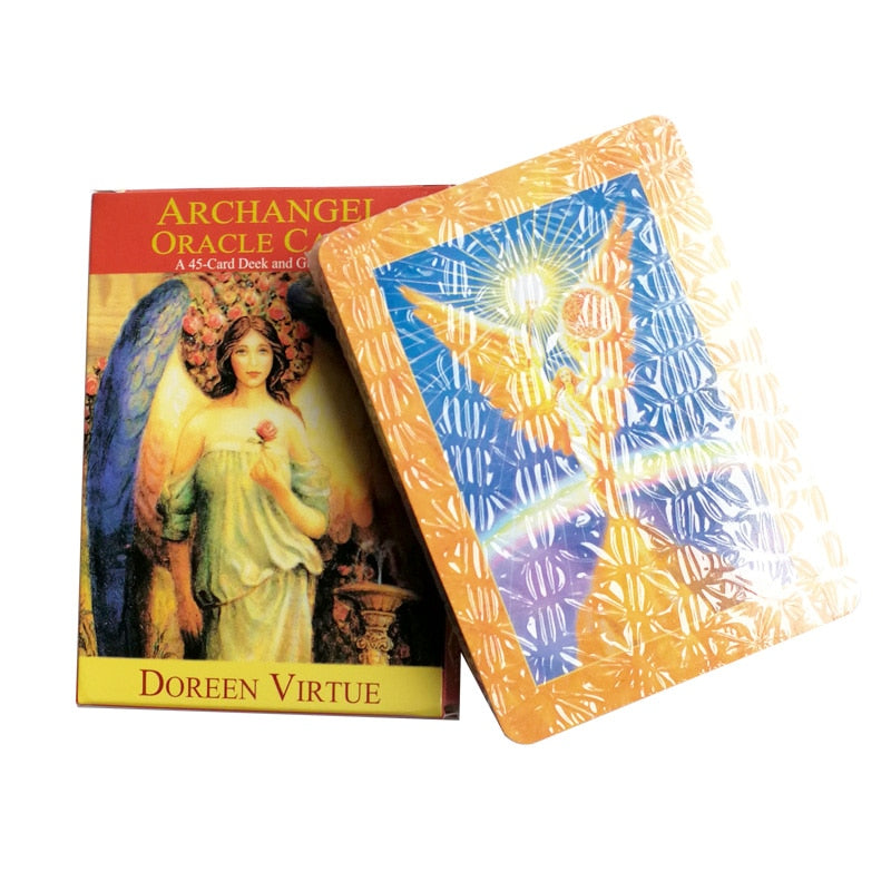 Archangel Oracle Cards Tarot Deck and Guidebook
