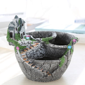 Desktop Fairy Garden Plant Pot