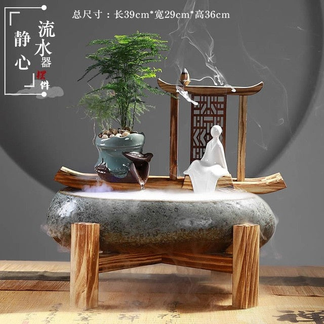 Feng Shui Lucky Water Fountain Humidifier