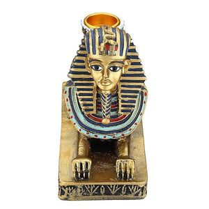 Egyptian Statue Candle Holder