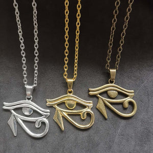 Egyptian Ra Eye Of Horus Necklace
