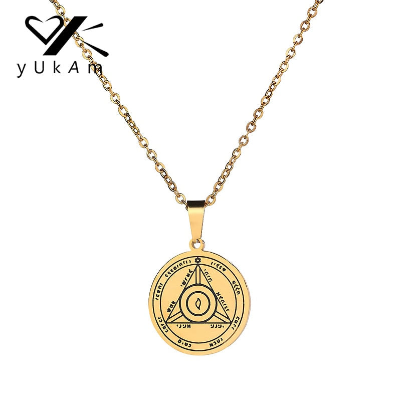 Sun Talisman Key of Solomon Seal Pendants