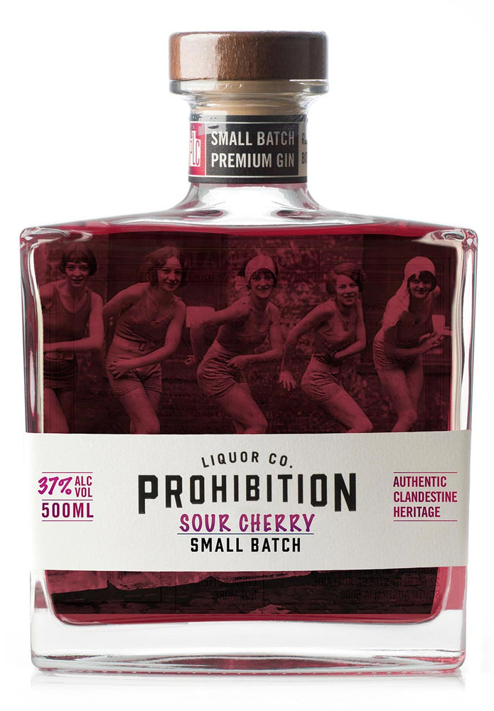Prohibition Sour Cherry Gin 500ML