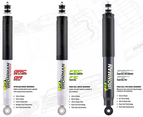Ironman 4x4 Shock Absorbers