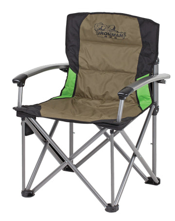 Deluxe Hard Arm Camp Chair