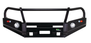 Deluxe Commercial Bull Bar Holden Colorado RC 2008 - 2012
