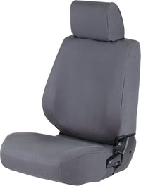 Nissan D40 Navara Ironman Canvas Seat Covers ICSC042F