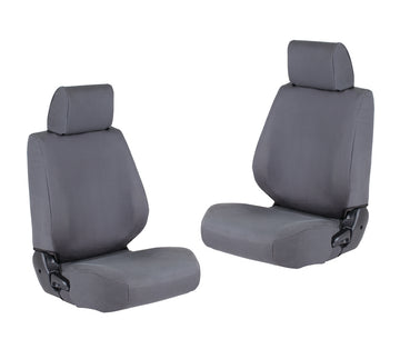 Front Canvas Seat Covers Toyota LandCruiser 79 Series Dual Cab