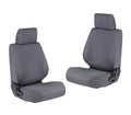Front Canvas Seat Covers Isuzu Dmax 2012 - 6/2020 (Pair)