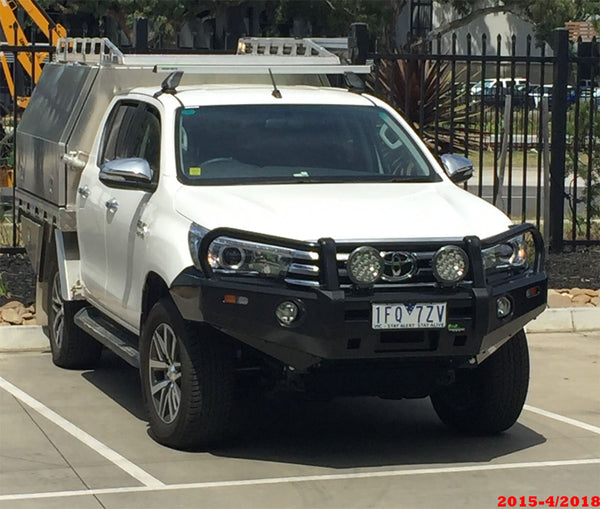 Toyota Hilux Ironman Deluxe Commercial Bull Bar