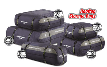 Rooftop Cargo Storage Bags