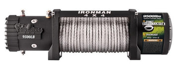 9,500lb Ironman Synthetic Rope Monster Winch