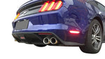 2015-2017 Ford Mustang Rear Diffuser GT Style With Tips