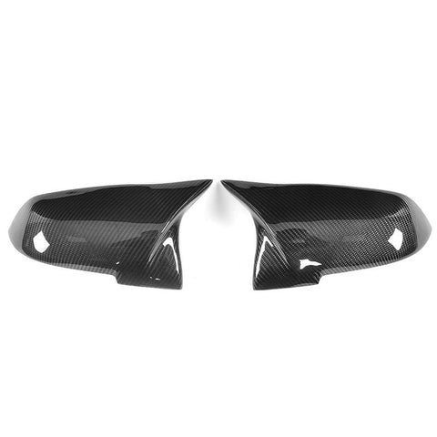 2012-2018 BMW F22/F23/F30/F32/F33/F87 2,3,4 Series M Inspired Style Mirror Caps (Carbon Fiber)