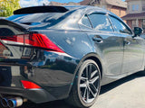 Rear Window Visor for 2014-2020 Lexus IS250/IS350