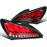 2010-2016 Hyundai Genesis Coupe Sequential LED Tail Lights (RED)