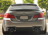 2011-2016 BMW F10 5 Series Trunk Spoiler High Kick Style