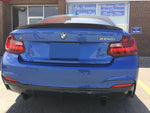 2014-2019 BMW F22/F87 2 Series Trunk Spoiler Performance Style (Carbon Fiber)
