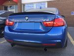 2014-2018 BMW F32 4 Series Trunk Spoiler Performance Style