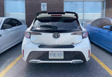 2019+ Toyota Corolla Hatchback OEM Style Rear Roof Trunk Spoiler (Black)