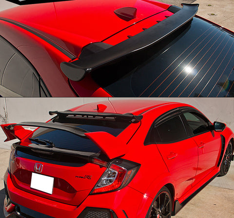 2017-2020 Honda Civic Hatchback Spoon Style Rear Roof Spoiler
