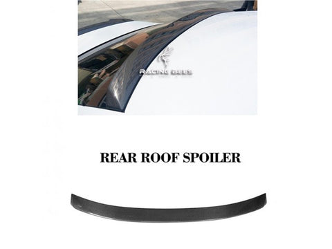 2014-2019 Lexus IS250/300/350 V Style Rear Roof Spoiler (Carbon Fiber)
