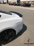2015-2019 Ford Mustang Rear Trunk Spoiler Track Pack Style (Black)